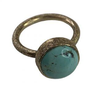 Blue-howlite-ring