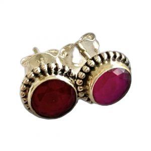 Ruby-earings