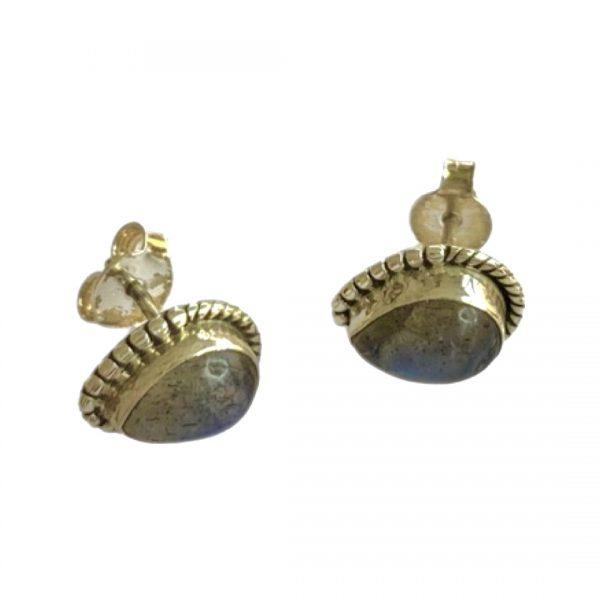 labradorite-earings