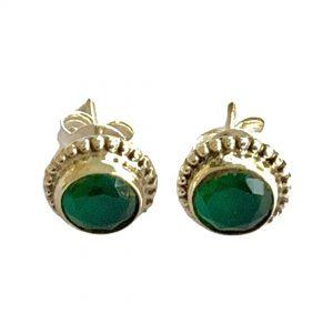 emerald-earings