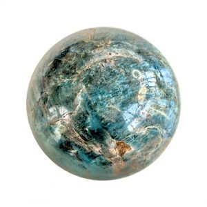 Blue-apatite-ball