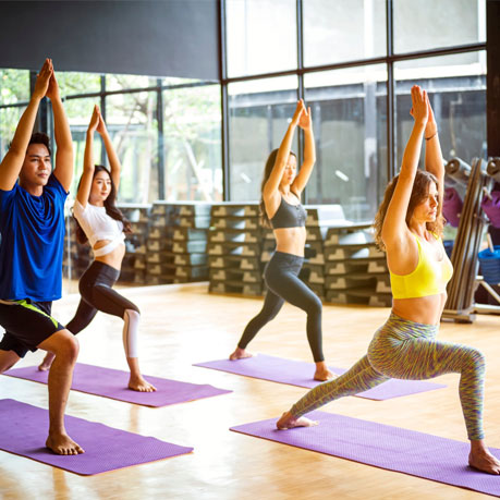 Yoga 2 Images In The Paragraph, Home of Wellness