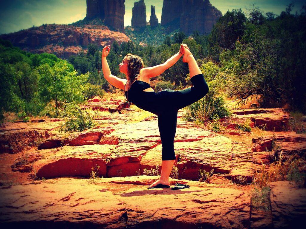 balance, yoga, pose
