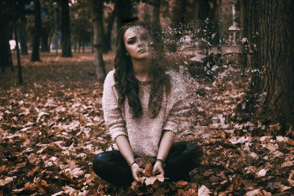 sadness, depressed, woman