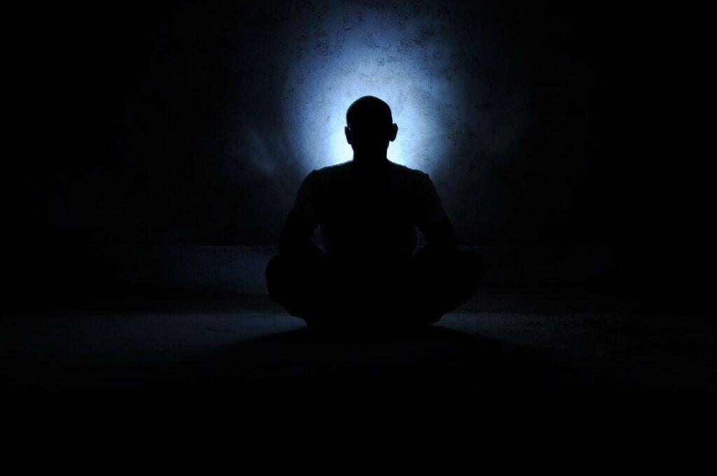 saint, meditation, yoga