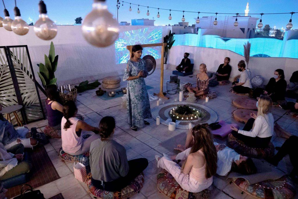 Full Moon Meditation Dubai